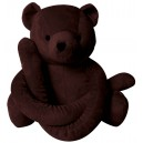 Eurobear medium velours chocolat