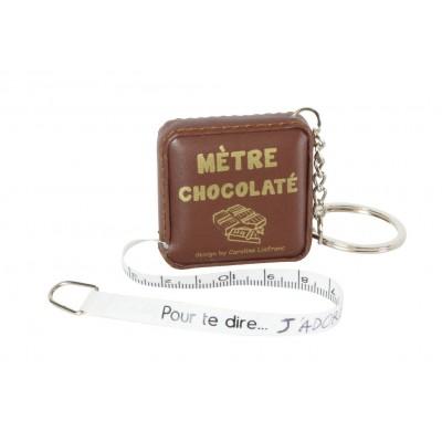 Mètre dérouleur chocolat