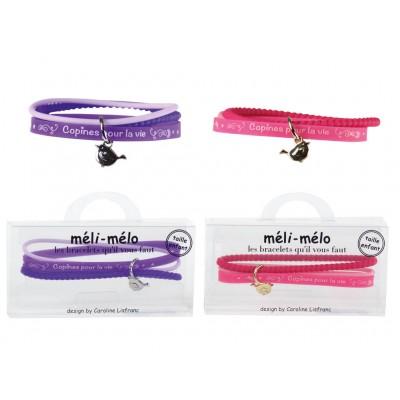 Bracelets copines méli-mélo