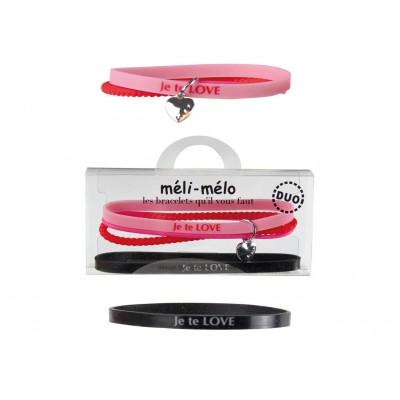 Bracelets toi et moi méli-mélo