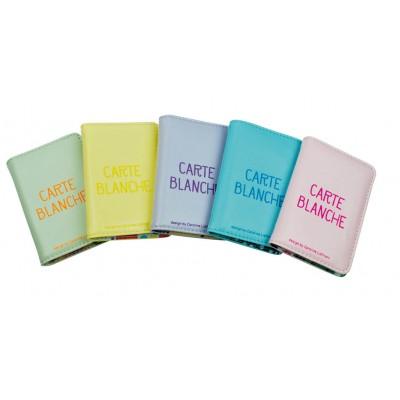 Porte-cartes Pastel