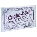 Pochette Cache Cash argent
