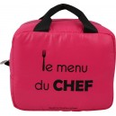 Sac Menu du chef rose