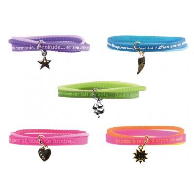 Bracelets Fluo méli-mélo